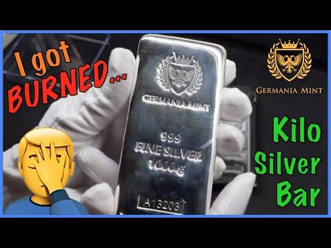 I got BURNED buying this 1 kg Silver Bar... [Pre-Sale Silver] Germania Kilo, a Beginner Silver Bar