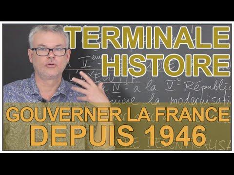 dissertation gouverner la france depuis 1946