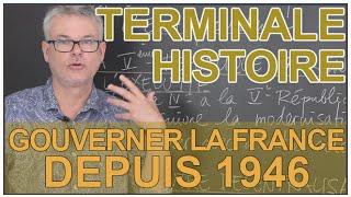Gouverner la France depuis 1946 - Histoire-Géo - Terminale - Les Bons Profs thumbnail