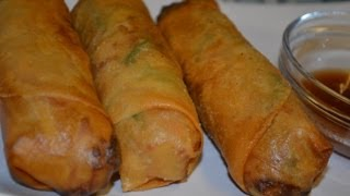 Vegetable Spring Roll (Lumpia)