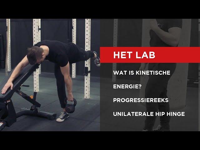 HET LAB | Progressiereeks Unilateral Hip Hinge
