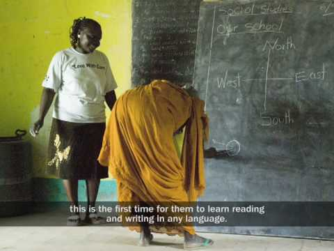 Teaching English in Sudan to Children and Adults