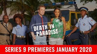 Death in Paradise Series 9 renewed for January 2020. Series 10 is also renewed