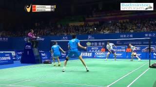 [Highlights] 2014 Badminton China Masters MXF Lu Kai Huang Ya Qiong vs Wang Yi Lv Xia Huan