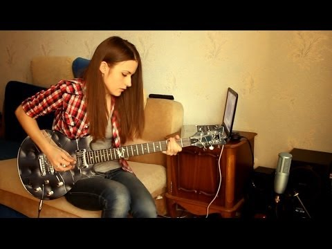 Slash - Anastasia (guitar cover by Marina Andrienko)