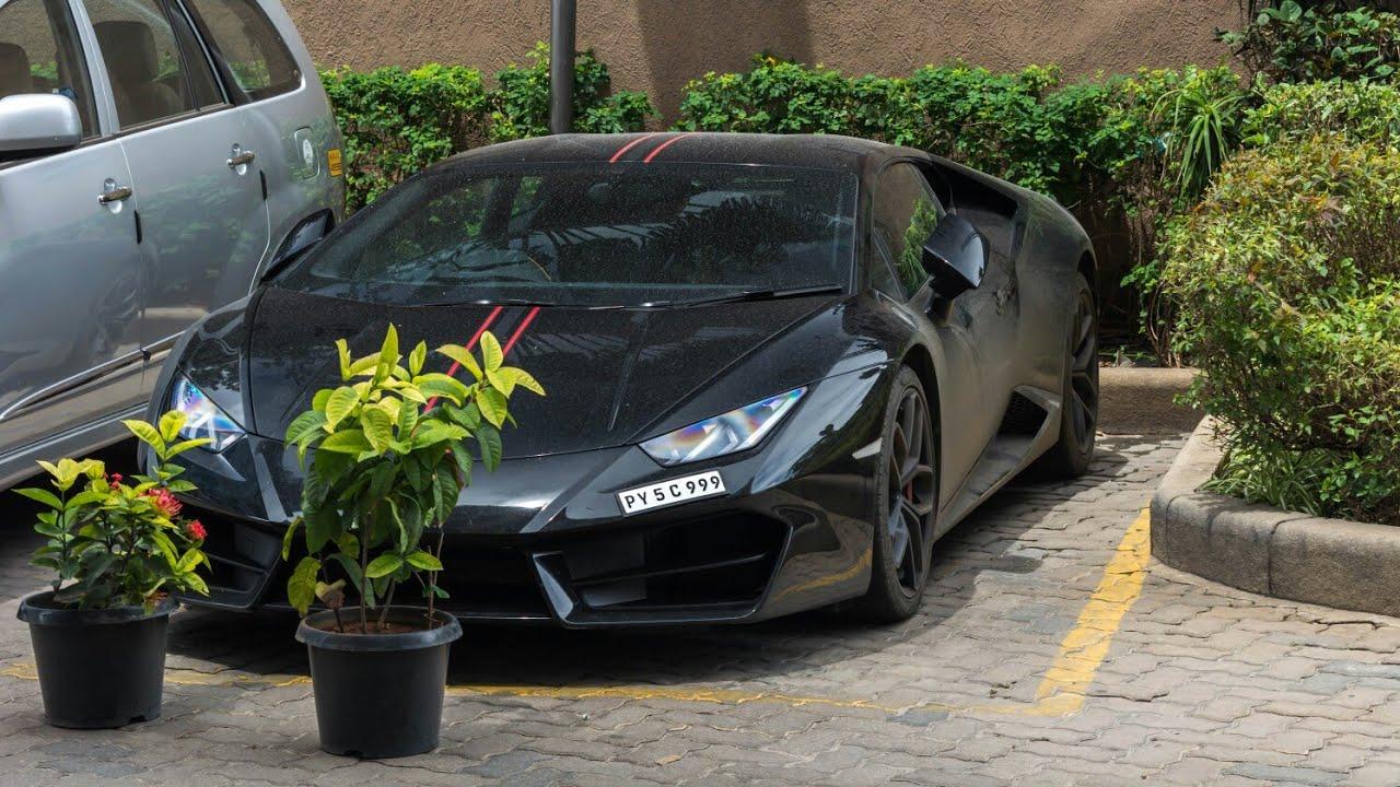 Kerala S Lamborghini Huracan Lp580 2 In Bangalore 10 Youtube