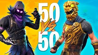 FORTNITE 50 vs 50 V2 GAMEPLAY LIVE!! (Fortnite Battle Royale)