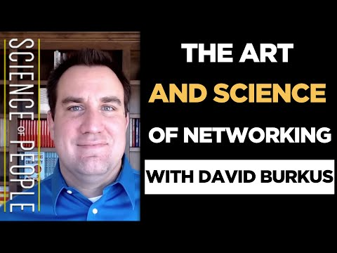 The Art and Science of Networking and Social Capital with David Burkus