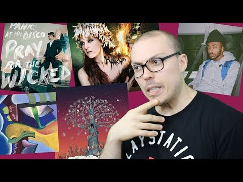 YUNOREVIEW: August 2018 (Aminé, Panic! at the Disco, Dance Gavin Dance)