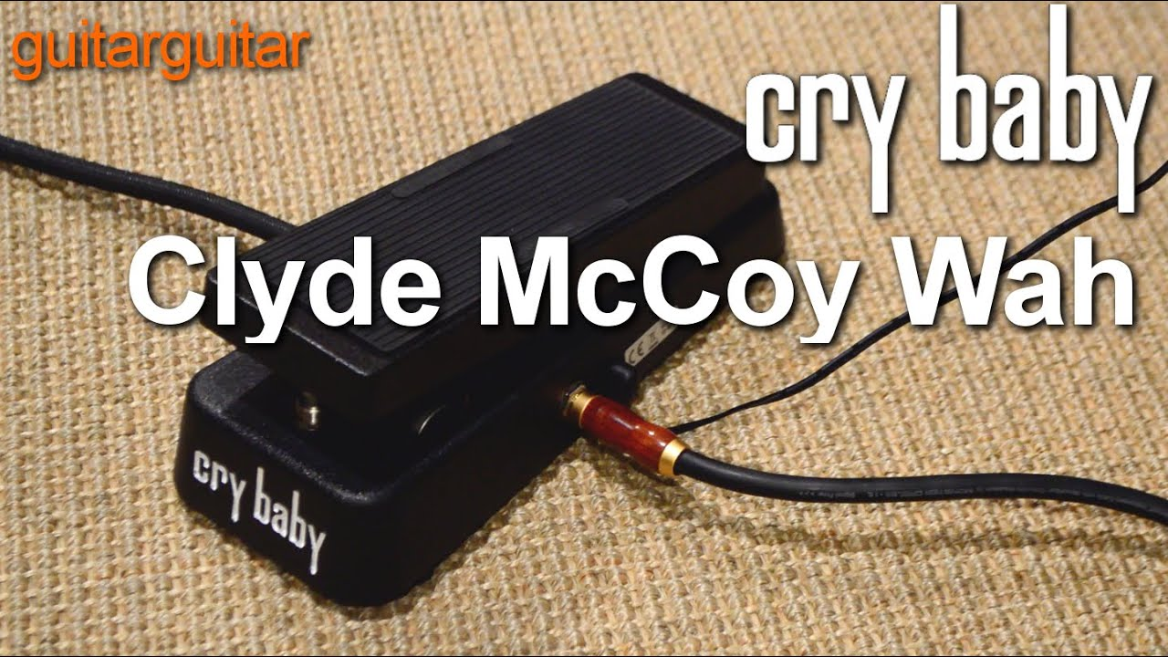 Dunlop Cm95 Clyde Mccoy Crybaby Wah Youtube Schematic Also Original Wiring Diagrams On Pedal