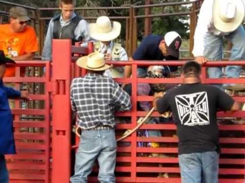 FLETCHER JULY 15, 2012 OMBR BULL RIDING JACK POT