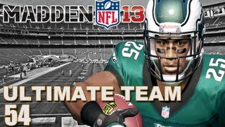 Madden 13 Ultimate Team : Rushing Plays Only!!! Ep.54