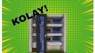 Minecraft Kolay Apartman Yapımı