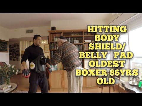 Oldest Boxer age of 86 yrs old live Jerusalem