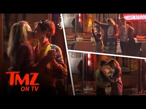 Paris Jackson & Cara Delevingne Hook Up!!!  TMZ TV