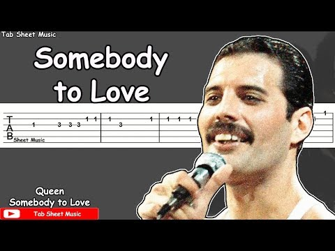 Queen - Somebody To Love Guitar Tutorial