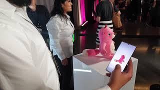 Eylem Samsung Galaxy Not 10+'nın 3D Tarayıcı
