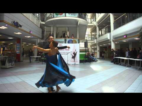 Ballroom and Latin dance display 2 at SHU Fest 2014