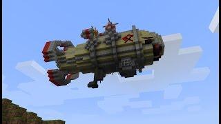 Работающий бомбардировщик в Minecraft как сделать? МЕЧТА ГРИФЕРА [Minecraft механизмы]