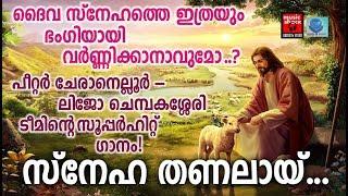 Snehathanalayi # Christian Devotional Songs Malayalam 2018 # Hits Of Peter Cheraneloor