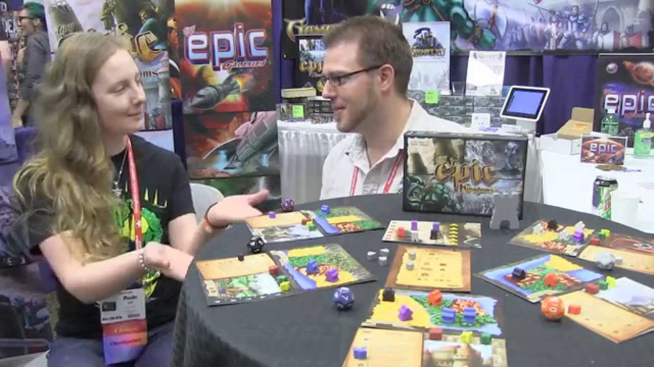 Tiny Epic Kingdoms Overview - Gamelyn Games, BGG.CON 2014 ...
