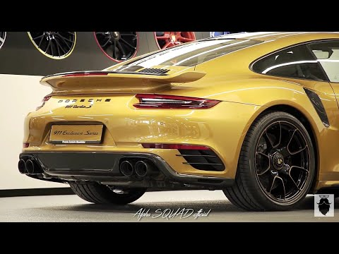 PRODUCTION and ASSEMBLY: 2018 Porsche 911 Turbo S Exclusive Series / Porsche Manufacturing Process