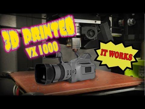CLICK BAIT CREW: 3D Printed VX1000 (IT WORKS)