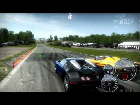 NFS Shift - Bugatti Veyron vs Koenigsegg CCX [LAN]
