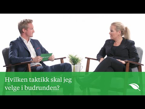 Budrunde taktikk - Budrunde tips | Krogsveen