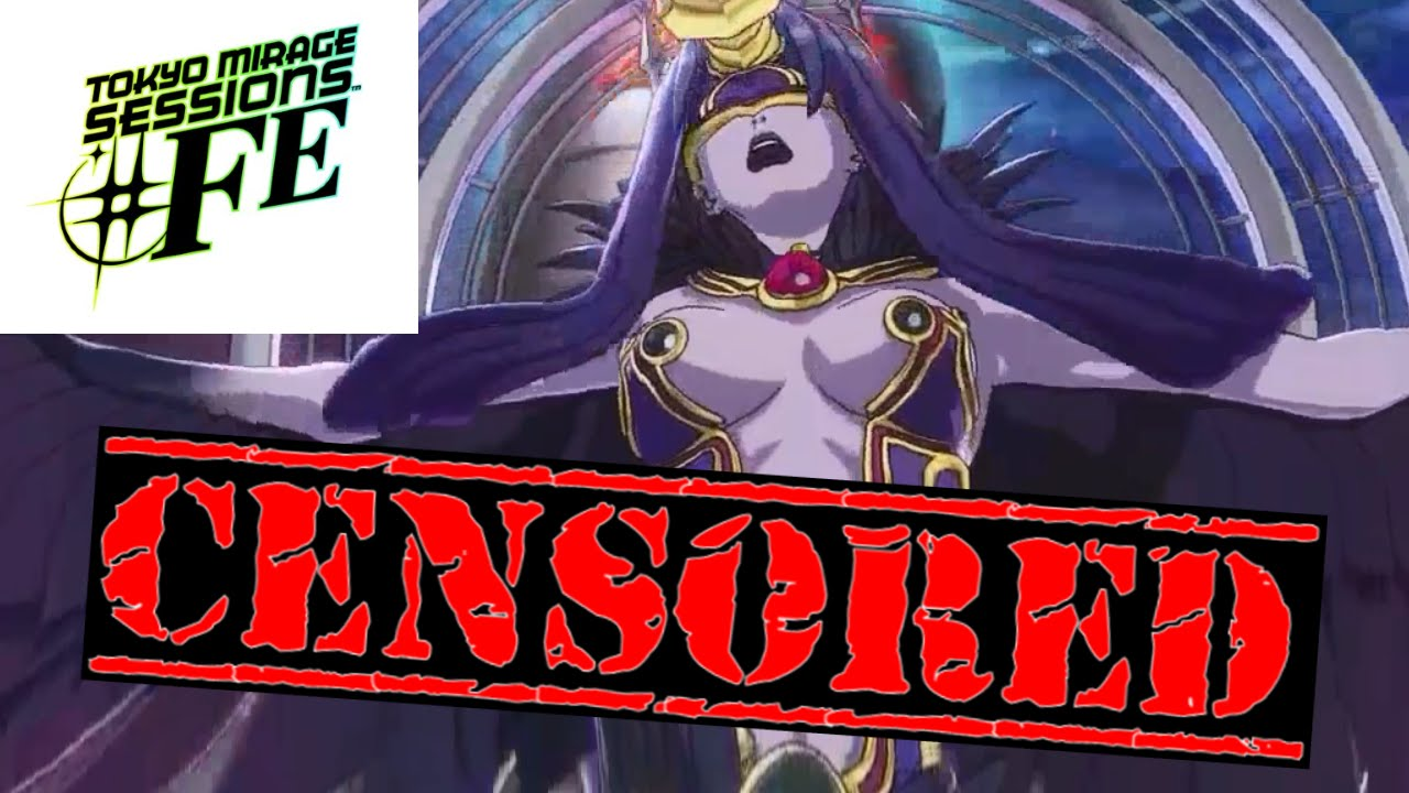 tokyo mirage sessions #fe censorship comparison - chapter 1 boss