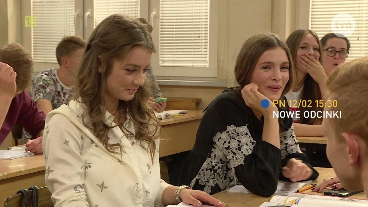 Szkoła powraca! Oglądaj nowe odcinki od poniedziałku o godz. 15:30 w TVN!