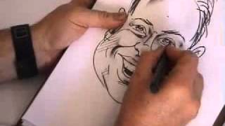 How To Draw Caricatures - Expert Video Lessons from 30 year veteran caricaturist Artist