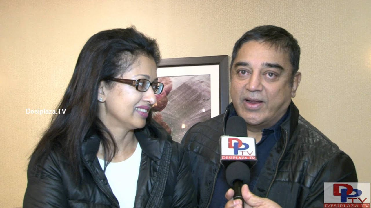 Kamal Haasan & Gautami Invite everybody to #lifeagain Worldwide Launch