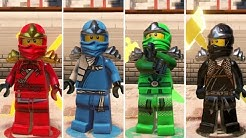 The LEGO Ninjago Movie Videogame - How to Unlock Classic Ninjas (Kai, Jay, Cole, Lloyd, Nya, Zane)