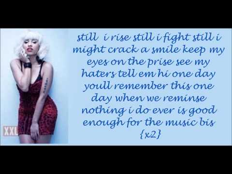 still i rise nicki minaj