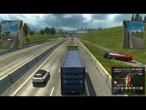 euro truck simulator 2 job market  mission#1 Frankfurt am Main to Dortmund