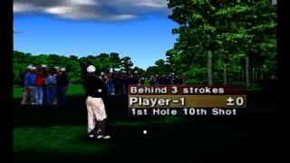 Golf Gameplay and Commentary