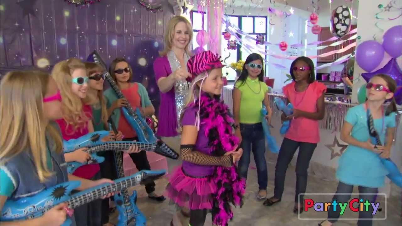 Rocker Princess Birthday Party Ideas Youtube