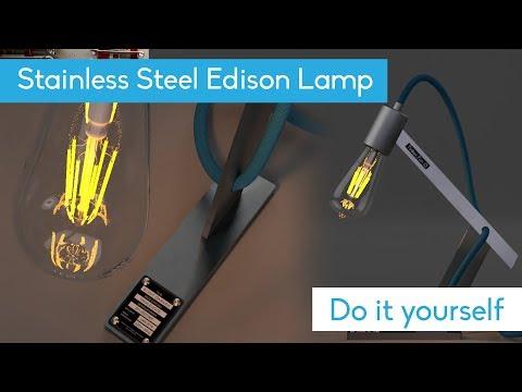 DIY - Stainless Steel Lamp - TIG Welding