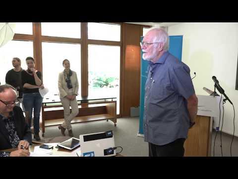Prix Nobel de Chimie 2017 - Prof. Jacques Dubochet/UNIL, Conférence presse