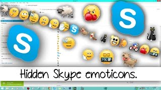 Some Hidden Skype Emoticons. ^.^