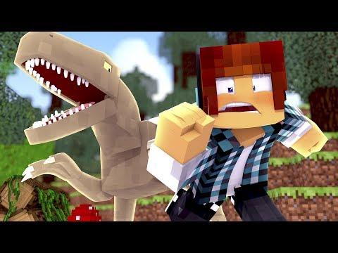 Minecraft: NOVO PARQUE DINOSSAURO !! ( Ark Parque #01 )