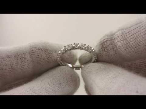 Кольцо «дорожка» Parure с бриллиантами