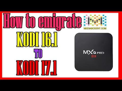 How To Upgrade Kodi 16.1 to Kodi 17.1 Krypton