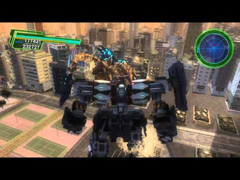 Pacific Rim Gameplay (Earth Defense Force 4.1)