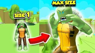 I Became the BIGGEST TURTLE in ALL OF TURTLE SIMULATOR!! (Roblox)