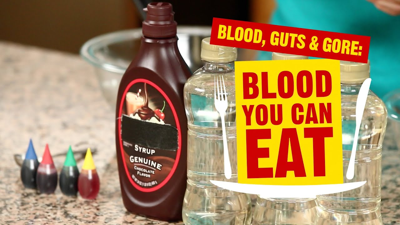 Blood Guts And Gore Edible Blood Youtube Interior horizontal image of cleaning sardines: blood guts and gore edible blood