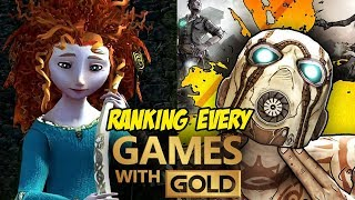 Ranking All 125 Games With Gold For Xbox 360