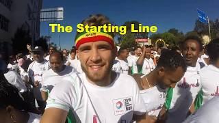 The Great Ethiopian run 2018, British International participants experience.