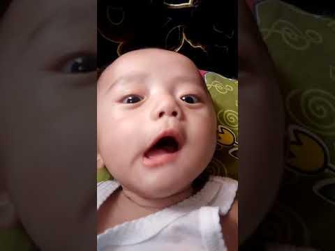 Bayi Ganteng Lucu Lagi Ngoceh Bikin Gemes